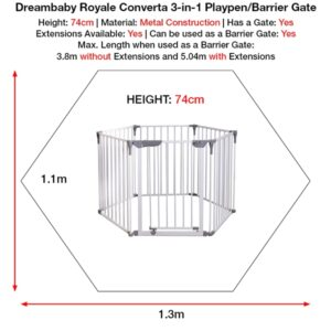dreambaby-royale-converta-3-in-1-playpen-size-dimensions