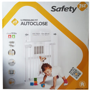 Safety 1st U-Pressure Fit Autoclose Doorway Gate