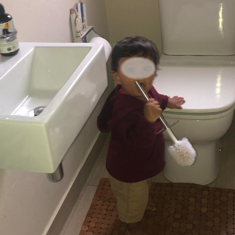 Childproofing bathrooms