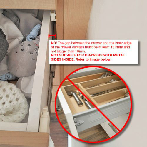 magnetic locks for drawers