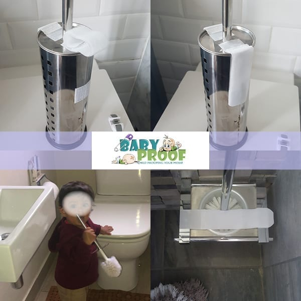 baby proofing toilet brush