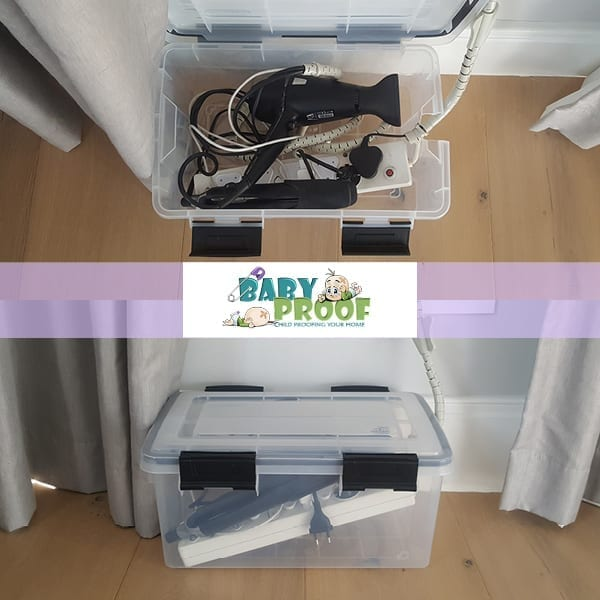 baby proofing electrical cords