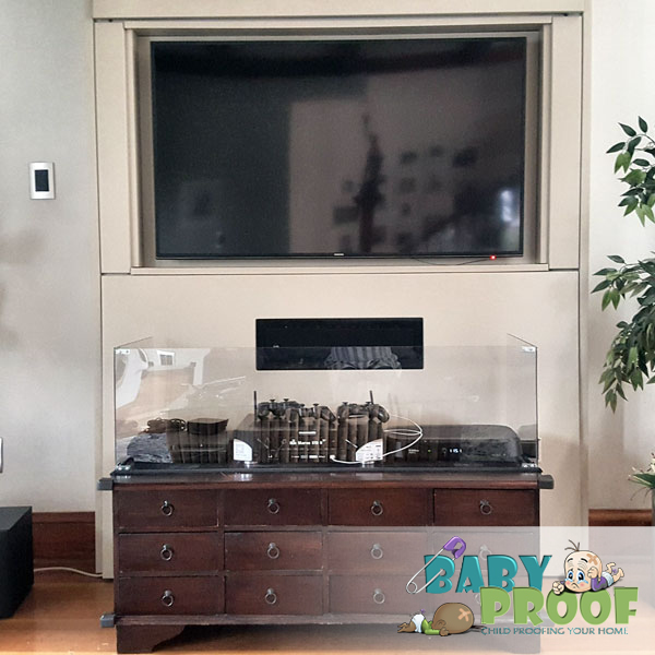 childproofing-xbox-tv-cabinet