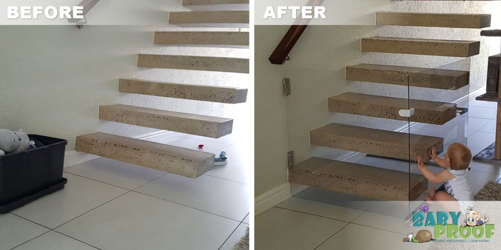 baby-proofing-a-floating-staircase-before-after